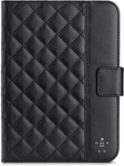 Belkin Quilted iPad Mini Cover Black/Cream - Officeworks - $15