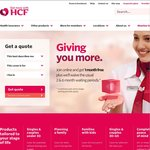 HCF Health Insurance: One Month Free When Joining Online (after 2 Months)
