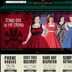 25% off Coupon for Retro Alternative Clothing. Includes Free Delivery in Australia