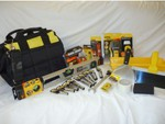 Stanley / Black & Decker 23 Piece Tool / Plasterer Variety Bag Only $149 Includes Shipping