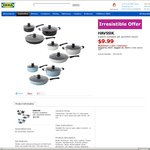 IKEA Irresistible Offer Havssik 6 Piece Cookware Set $9.99 (QLD, NSW, VIC)