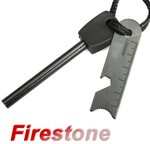 Multi-Function Outdoor Survival Stone Fire Starter Kit Only US $0.99 Shipped-200pcs@Newfrog