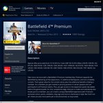 PSN Store Battlefield 4 Premium (Add-on Subscription) $29.95 (PS+ $26.96) Only