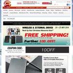 "Toshiba 2TB Canvio Basic 2.5"" Portable USB 3.0 Powered Hard Drive $109 Delivered @ Shopping Express"