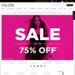 Up to 75% off - City Chic (Now with 'Further Markdowns')