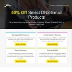 50% off Any NEW Subscriptions - DNS/Email/Remote Access - Dyn DNS