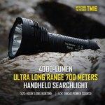Nitecore TM16 Ultra Long Range LED Flashlight L2 U2 4000Lm $118.59 USD Posted @ GearBest