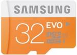 Samsung EVO MicroSD Cards: 32GB $14.90 & 64GB $28.90 Delivered @ PC Byte
