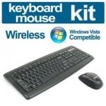 Omni RF3900 Cordless Desktop 2.4 Ghz Keyboard & Optical Mouse Set $0 + 14.95 Shipping - Topbuy
