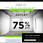 SABA up to 75% off Online Outlet Sale - Male & Female Items