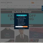 BLACK FRIDAY | Extra 20% off Suits, Chinos, Shirts, Jackets + 20% off 3 for 2 Shirts @ Moss Bros