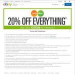 20% off Everything @  Only Online / oo.com.au (eBay)