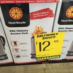 Heat Beads® Chimney Booster Pack @ Bunnings Warehouse (Port Macquarie, NSW) for $12.5