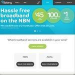 Belong ADSL/NBN - $40 off Your First Invoice