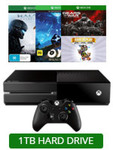 1TB Xbox One + 4 Games (Halo 5, Gears of War, Ori, Rare Replay) $328 @ EB Games - Wed 29th & Thu 30th June