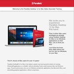 FREE Parallels Desktop 12 for Mac (Licence Expires 31/12/17) - Save $79.99