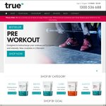 20% off Store Wide at True Protein (Excluding Bundles)