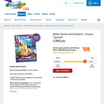 Better Homes and Gardens Magazine 6 Issues for 3,900 Flybuys Points ($19.5)