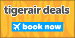Tigerair Domestic Sale: Short Haul $33, Medium Haul $66, Long Haul $99 (Jetstar $30, $59, $89)