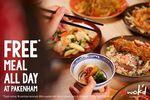 Free Meal on Thursday @ Wok'd Pakenham (VIC)