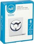 USB Desktop Fan with 3 Port Hub $2.50 (75% off) Woolworths