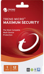 Trend Micro Maximum Security 12 Months $8 after $20 Cashback @ Bing Lee (Possibly Others)