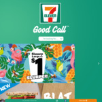 7-Eleven Fuel App: Free Ice Coffee, Free Coffee Melt & Free Fruit
