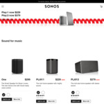 Sonos Play Wireless Speakers - Sonos Play:1 $229 & Play:3 $379 - Price Drop @ Sonos Australia