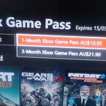 3-Month Xbox One Game Pass Subscription for $21.90 from Xbox One Dashboard