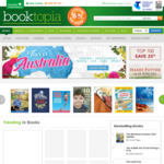 Free Shipping at Booktopia with Minimum $17 Spend