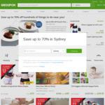 10% off Via App (5% off Via Web) @ Groupon