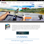 Free Cyberlink Action Director 3 Ultra (Value US $49.99)