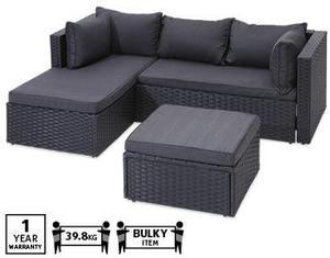 aldi corner wicker setting 349 ozbargain. Black Bedroom Furniture Sets. Home Design Ideas