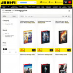 Strategy Guides from $5.50 (Was $44) - Dishonoured 2, Uncharted 4, Watch Dogs 2, Mafia 3, Halo 5, Skyrim & More @ JB Hi-Fi
