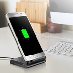 Konsmart Q700 10W QI Wireless Fast Charger Charging Stand for US $11.99/AU $15.89 Delivered @ Zapals