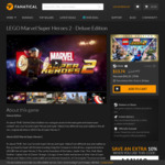 [PC] LEGO Marvel Super Heroes 2 - Deluxe Edition $12.36 USD ($16.50 AUD) from Fanatical