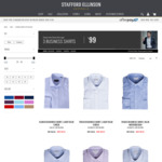 STAFFORD ELLINSON | Choose 3x BUSINESS SHIRTS for $99. Free Delivery Available