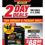 Penrite HPR Diesel 10 Engine Oil - 10W-40, 10 Litre $88.99 with $40 Account Credit @ Supercheap Auto (Club Plus Members)