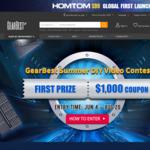 Gearbest Summer DIY Video Contest: Win 1000USD coupon/Geeetech A30/Geeetech E180