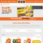 Purchase Min 6 Pack of Heineken ($16) Get Free Eligible Old El Paso Taco Kit @ BWS