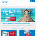 Win 1 of 5 Holidays to Fiji Worth $4,941 from Velocity [Flybuys Members]
