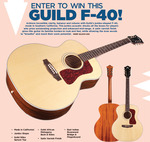 Win a Guild F-40 Worth USD $2,000 from Acoustic Guitar Magazine