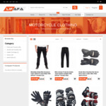 EOFY Sale: Up to 70% off on All Motorcycle Clothing - Kevlar Jeans $49.99, Gloves $19.99, Tool Bag $45 + More @ LiFaFa