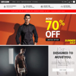 70% off Storewide on Jeans, Shirts, Shorts and Jackets with Free Shipping @ CR7