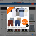 Pierre Cardin Polos or Shorts - 2 for £11 (AUD $21.37) Delivered @ SportsDirect