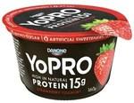50% off Danone Yopro Yoghurt Tub Varieties $1.12 @ Coles