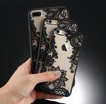 For Apple iPhone 5 6S 7 Plus 8x 10 Case Mandala Pattern Clear Bumper Soft Cover $4.59 + Free Shipping @ eBay ABimports