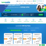 Lycamobile: Deals, Coupons and Vouchers - OzBargain