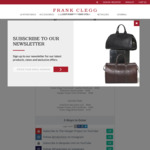 Win 1 of 2 Wardrobes Worth Up to $4,350 from Frank Clegg