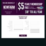 [QLD] Half Price Movie Club Membership $5 at Five Star Cinemas (New Farm & Brisbane CBD, Yatala Drive-In)